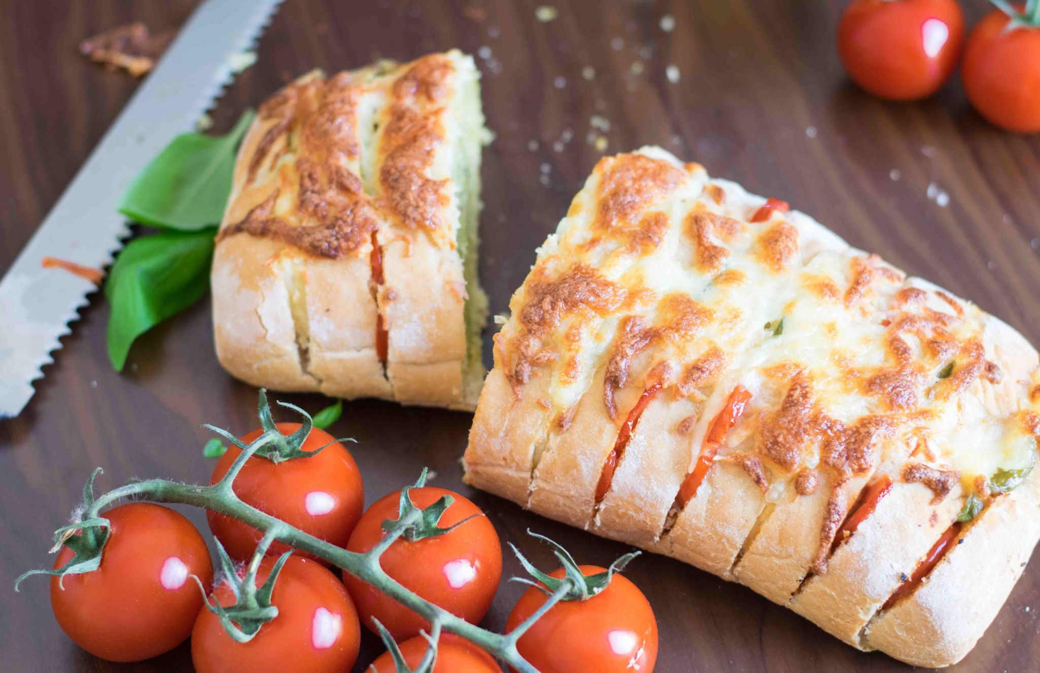 Italienisches Partybrot – Ciabatta auf andere Art!