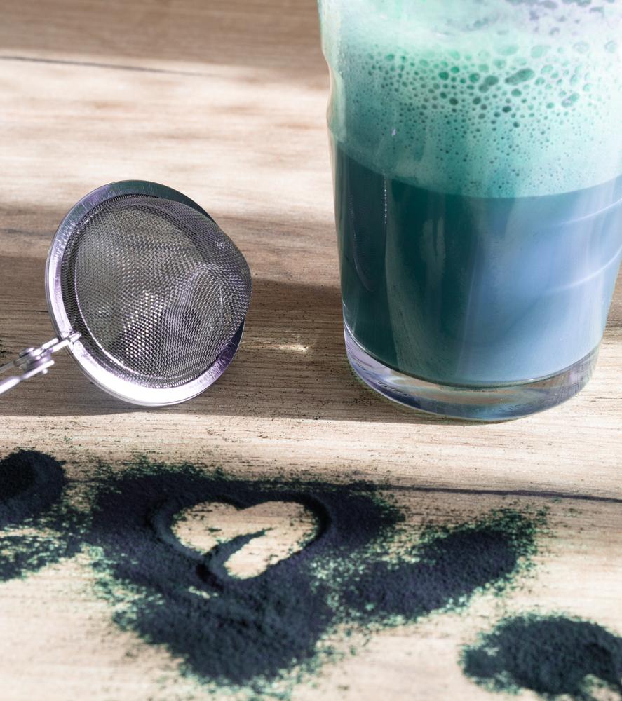 Smurf Latte